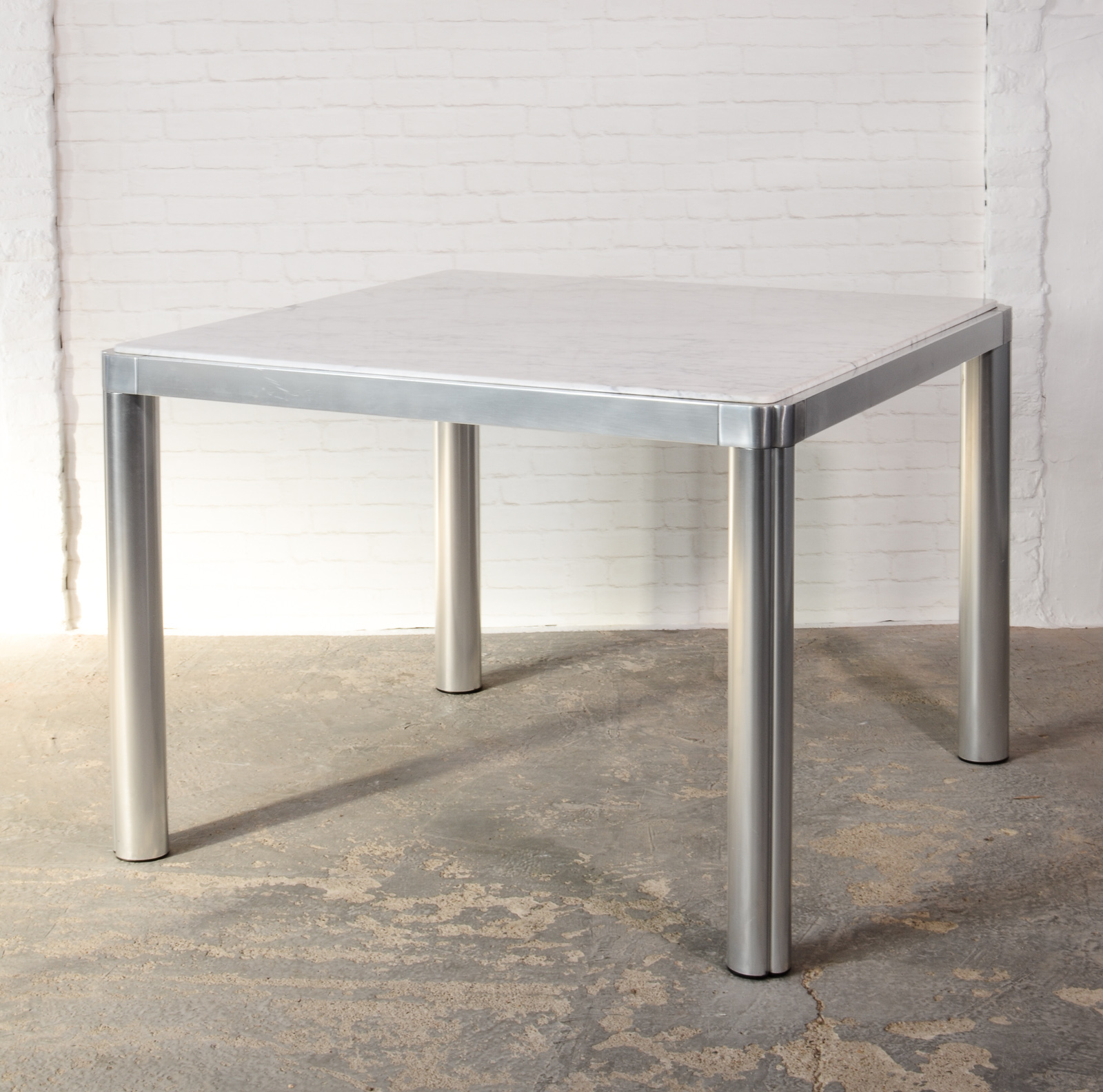 Marvelous Square Marble Table Designed By Kho Liangh For Artifort