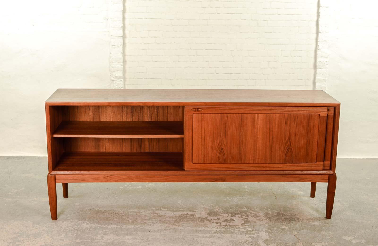 Danish Design Credenza : Stunning teak low profile danish credenza by austinsuite u abt modern