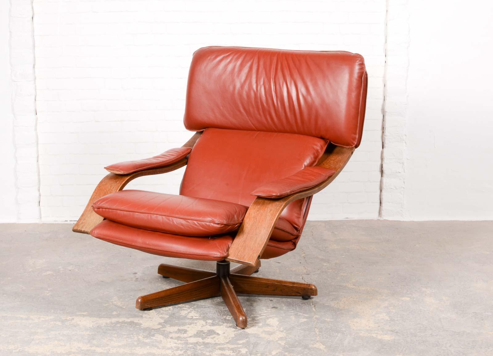 Cool Majestic Mid Century Scandinavian Swivel Relax Lounge Chair Ibusinesslaw Wood Chair Design Ideas Ibusinesslaworg