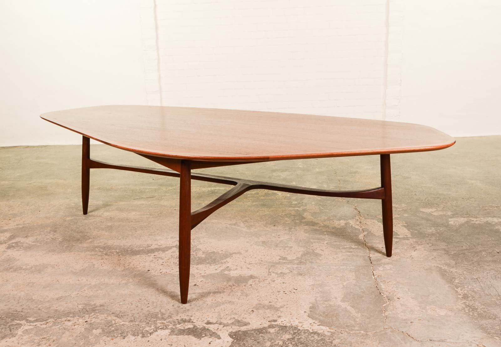 Free Form Shaped Kidney Coffee Table designed by Svante ...