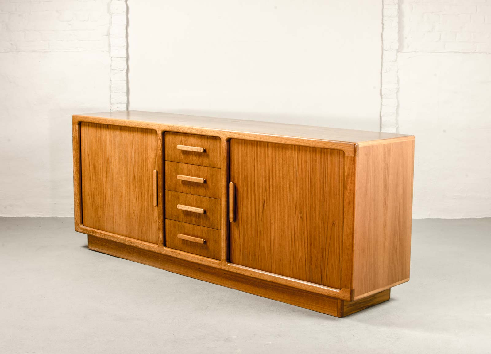 Cheap Midcentury Teak Sideboard Credenza Designed By Johannes Andersen For  Silkeborg With Mid Century Sideboard