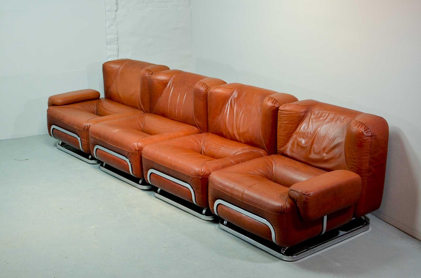 Mid Century Leather Sofa Midcentury Tufted Black Leather Sofa For  ~ Affordable Mid Century Sofa