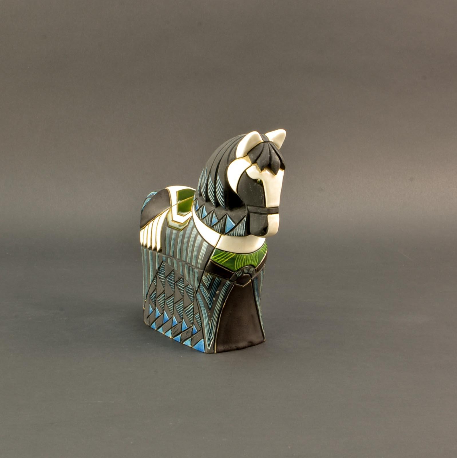 Artistic Handcrafted Scandinavian Ceramic Horse Sculpture 1960s Hpvintage Com