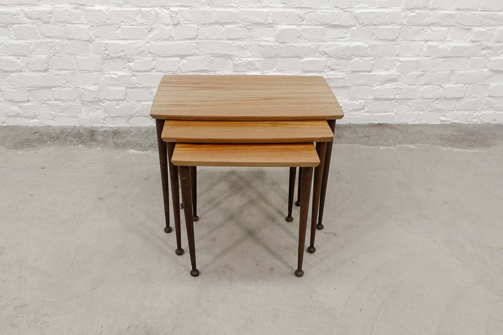 Mid Century Nesting Tables Images Bar Height Dining