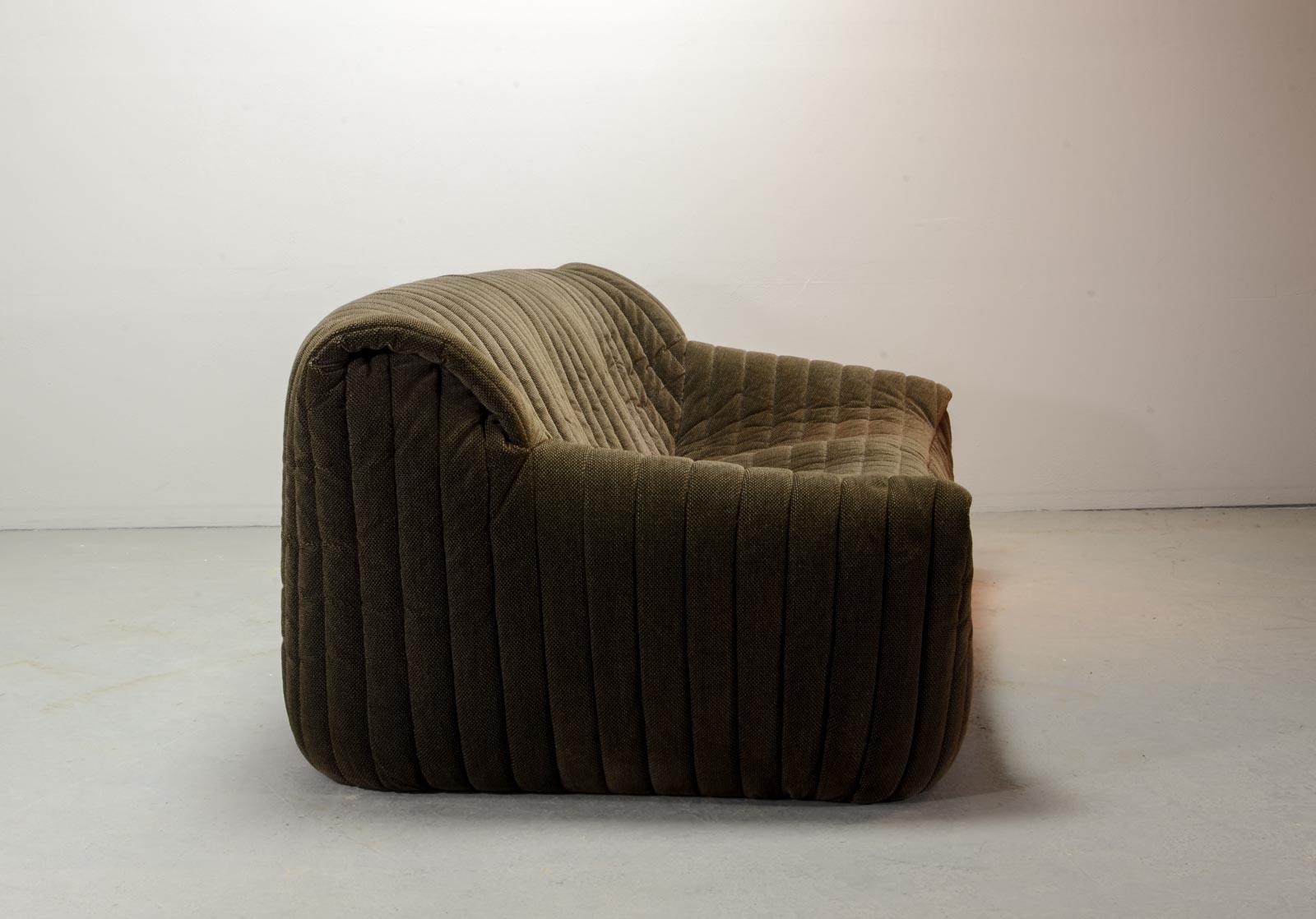 midcentury three seat sofa by annie hieronymus for cinna. Black Bedroom Furniture Sets. Home Design Ideas